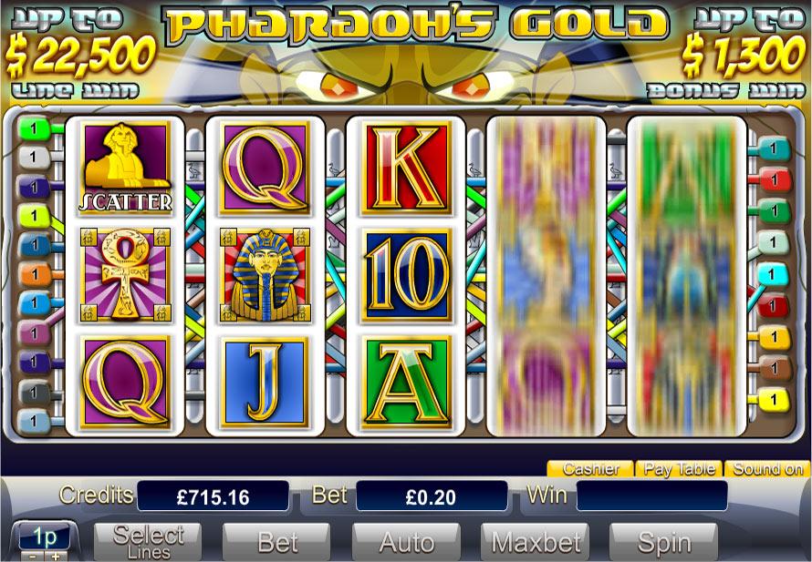 online casino no deposit pharaoh s