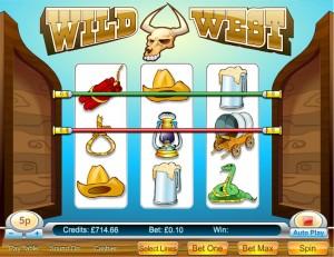 Wild West 3 Reel
