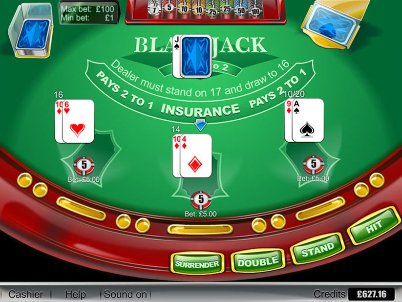 Blackjack etiquette surrender