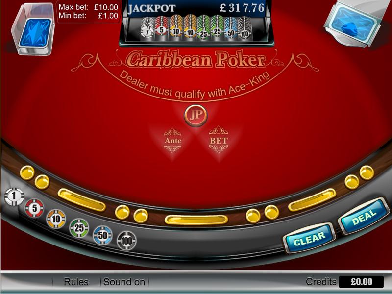 free online slots caribbean stud