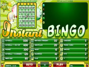 Instant Bingo 75
