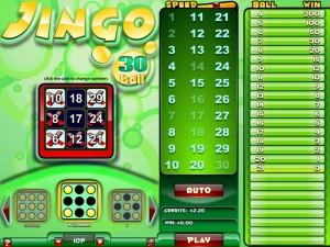 Jingo Bingo 30