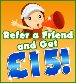 Refer a friend and get 15