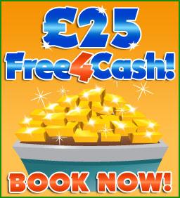 £25 Free4Cash Bingo!
