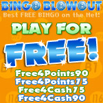 Four Fabulous Free Rooms at Bingo Blowout